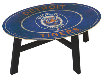 Detroit Tigers Heritage Logo Coffee Table