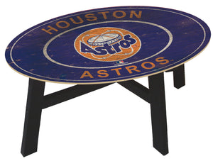 Houston Astros Heritage Logo Coffee Table