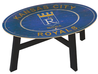 Kansas City Royals Heritage Logo Coffee Table