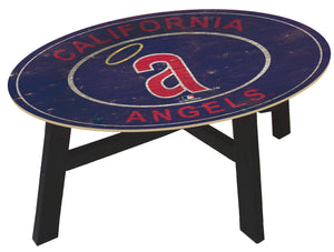 Los Angeles Angels Heritage Logo Coffee Table
