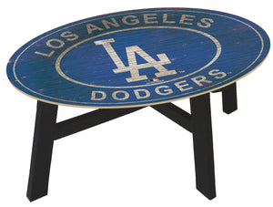 Los Angeles Dodgers Heritage Logo Coffee Table