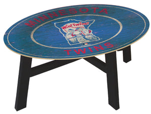 Minnesota Twins Heritage Logo Coffee Table