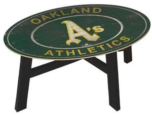 Oakland Athletics Heritage Logo Coffee Table