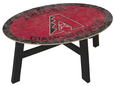 Arizona Diamondbacks Logo Coffee Table