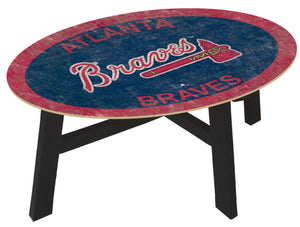 Atlanta Braves Logo Coffee Table