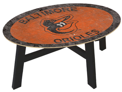 Baltimore Orioles Logo Coffee Table