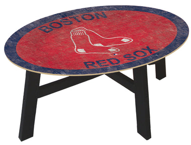 Boston Red Sox Logo Coffee Table