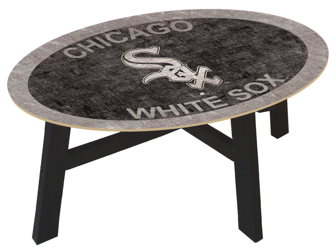 Chicago White Sox Logo Coffee Table