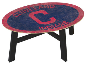 Cleveland Indians Logo Coffee Table