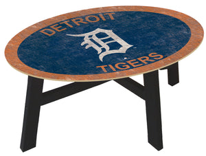 Detroit Tigers Logo Coffee Table