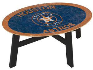 Houston Astros Logo Coffee Table