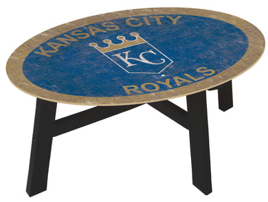 Kansas City Royals Logo Coffee Table