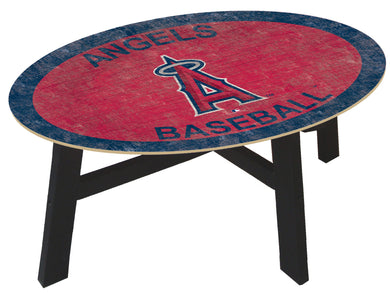 Los Angeles Angels Logo Coffee Table