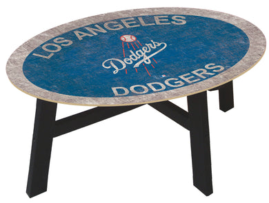 Los Angeles Dodgers Logo Coffee Table