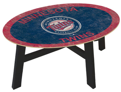 Minnesota Twins Logo Coffee Table