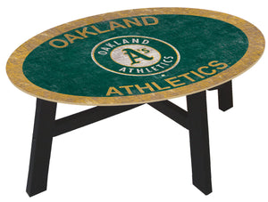 Oakland Athletics Logo Coffee Table
