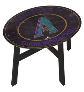Arizona Diamondbacks Heritage Logo Wood Side Table