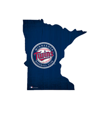 Minnesota Twins Team Color Logo State Sign