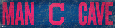 Cleveland Indians Man Cave Sign - 6