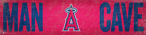 "Los Angeles Angels Man Cave Sign - 6""x24"""