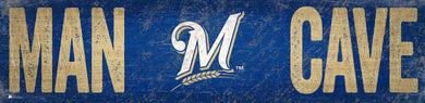 Milwaukee Brewers Man Cave Sign - 6