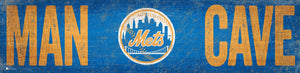 "New York Mets Man Cave Sign - 6""x24"""