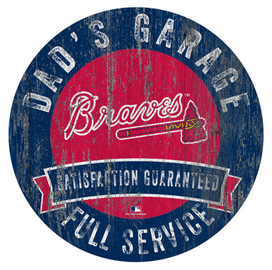 Atlanta Braves Dad's Garage