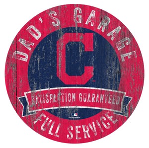 Cleveland Indians Dad's Garage