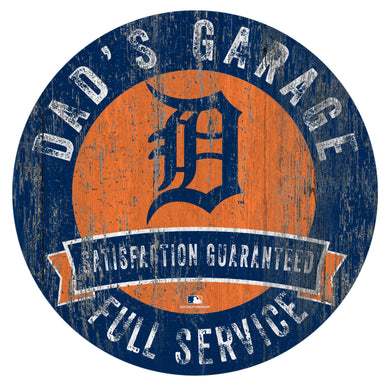 Detroit Tigers Dad's Garage