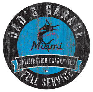 Miami Marlins Dad's Garage