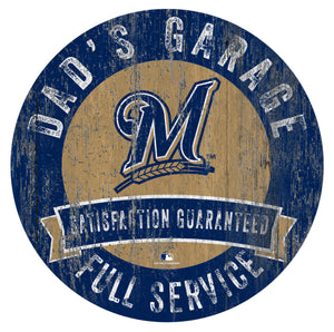 Milwaukee Brewers Dad's Garage
