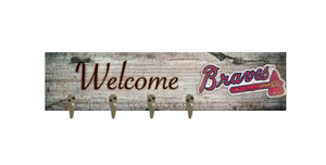 "Atlanta Braves Coat Hanger - 24""x6"""