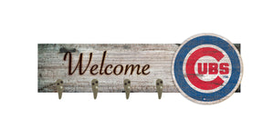 "Chicago Cubs Coat Hanger - 24""x6"""