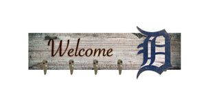 "Detroit Tigers Coat Hanger - 24""x6"""