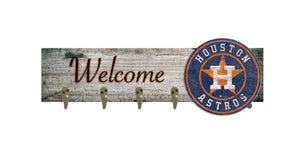 "Houston Astros Coat Hanger - 24""x6"""