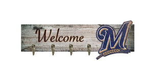 "Milwaukee Brewers Coat Hanger - 24""x6"""