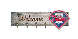 "Philadelphia Phillies Coat Hanger - 24""x6"""