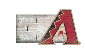 "Arizona Diamondbacks Key Holder 6""x12"""
