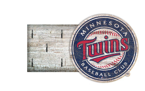 "Minnesota Twins  Key Holder 6""x12"""