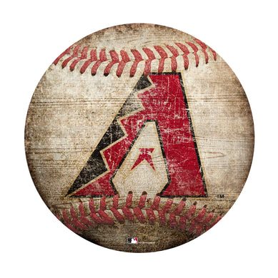 Arizona Diamondbacks Baseball Shaped Sign