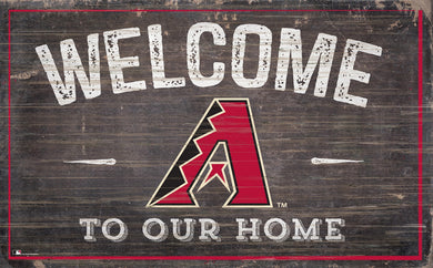 Arizona Diamondbacks Welcome To Our Home Sign - 11