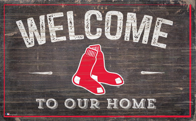 Boston Red Sox Welcome To Our Home Sign - 11