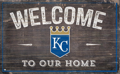 Kansas City Royals Welcome To Our Home Sign - 11