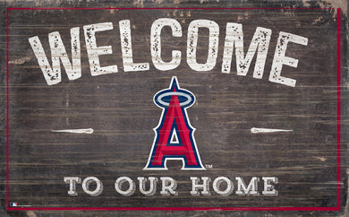 Los Angeles Angels Welcome To Our Home Sign - 11
