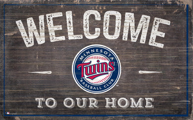 Minnesota Twins Welcome To Our Home Sign - 11