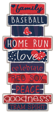 Boston Red Sox Celebrations Stack Wood Sign -24
