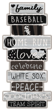 Chicago White Sox Celebrations Stack Wood Sign -24