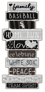 Chicago White Sox Celebrations Stack Wood Sign -24""