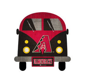 Arizona Diamondbacks Team Bus Sign