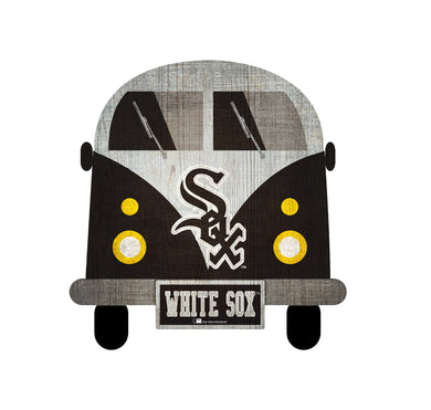 Chicago White Sox Team Bus Sign